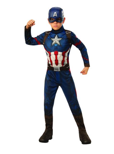 Captain America Kostüm für Jungen - The Avengers