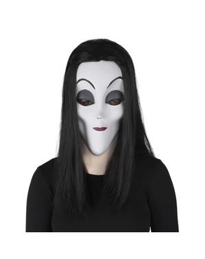 Máscara Morticia La Familia Addams para mujer