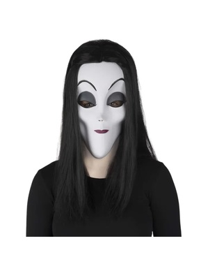 Morticia The Addams Family Masker voor dames