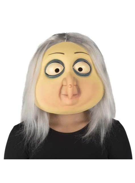 Máscara Abuela Addams La Familia Addams para mujer