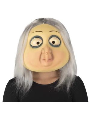 Máscara de Grandmama Addams A Família Addams para mulher
