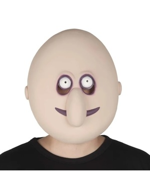 Uncle Fester The Addams Family Masker voor heren