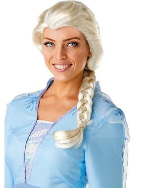 Peluca de Elsa Frozen 2 para mujer