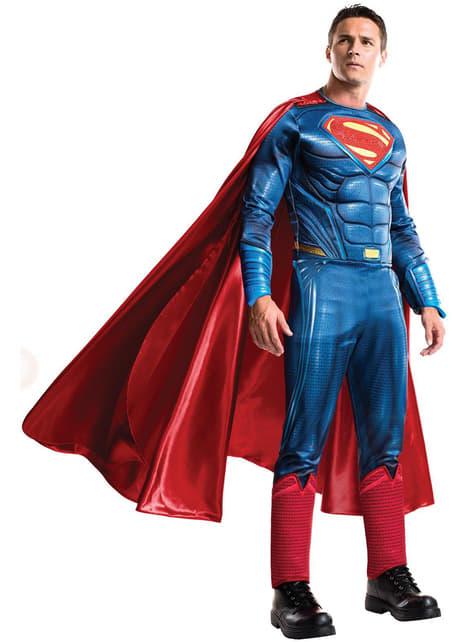 Disfraz de Superman Grand Heritage Batman vs Superman para hombre