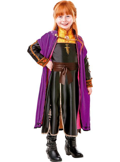 Anna Frozen premium costume for girls - Frozen 2
