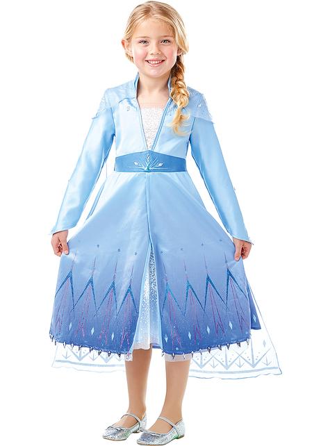 Kostým pro dívky Elsa premium - Ledové království 2