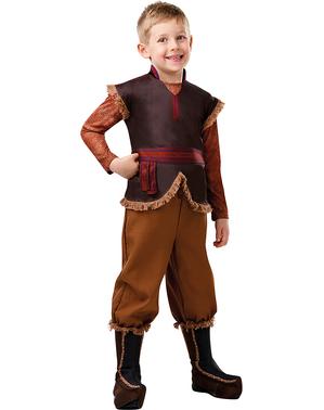 Costum Kristoff deluxe pentru băiat – Regatul de gheață 2 (Frozen)