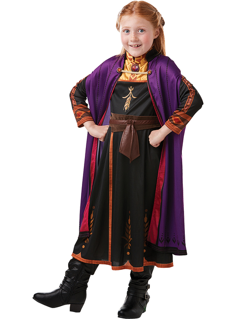 Anna Frozen Costume for Girls - Frozen 2