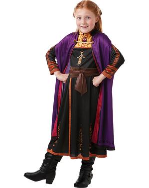 Anna Frozen Kostyme til Jenter - Frozen 2