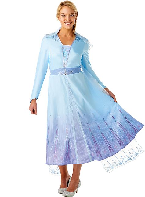 Fato de Elsa Frozen para mulher - Frozen 2