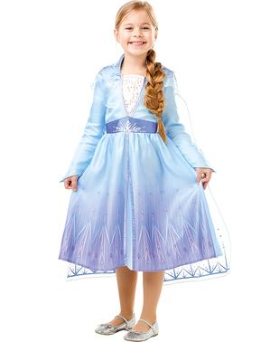 """Класически детски костюм на Елза– """"Замръзналото кралство2"""""""