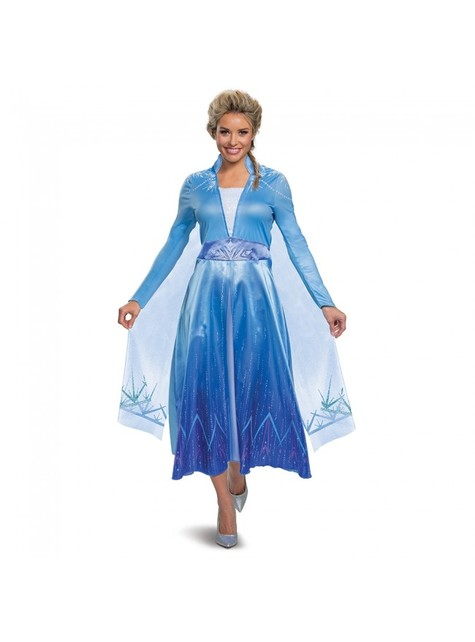 Deluxe Elsa Costume for Women - Frozen