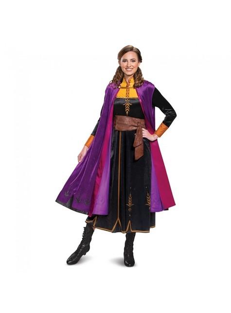 Deluxe Anna kostuum voor dames - Frozen