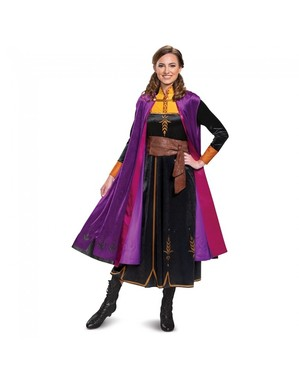 Deluxe Anna kostume til kvinder - frost