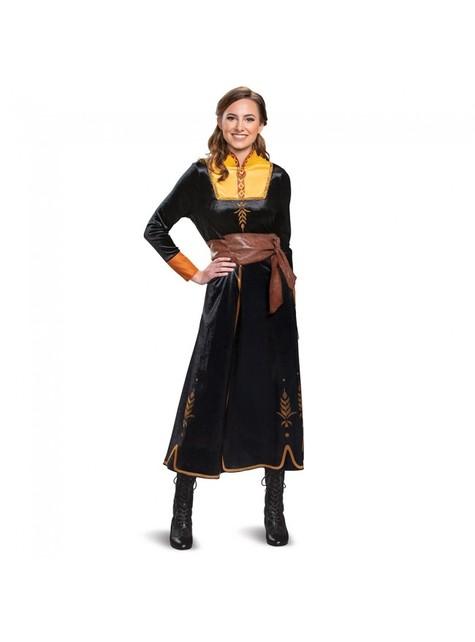 Disfraz de Anna Deluxe para mujer - Frozen