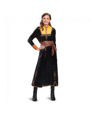 Costum Anna Deluxe pentru femeie – Regatul de gheață (Frozen)
