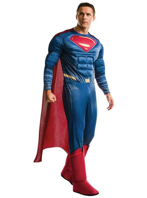 Fato de Superman Batman vs Superman para adulto