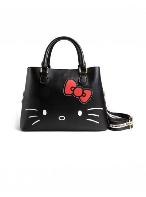 Bolso de Hello Kitty negro para mujer