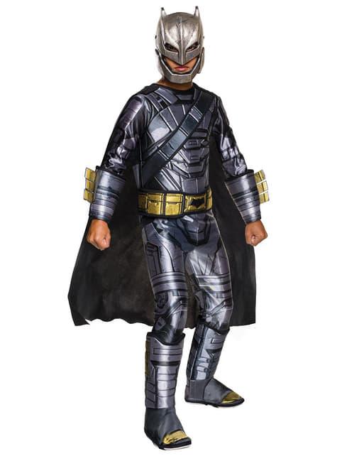 Déguisement Batman armure deluxe : Batman vs Superman enfant