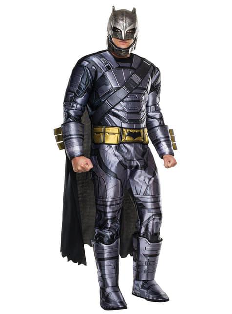 Batman Batman vs Superman luxe pantser kostuum voor mannen