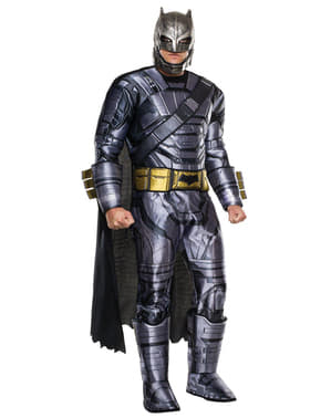 Costum Batman armură deluxe Batman vs Superman pentru adult