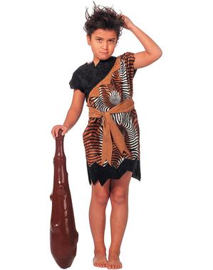 Caveman kostým pre deti