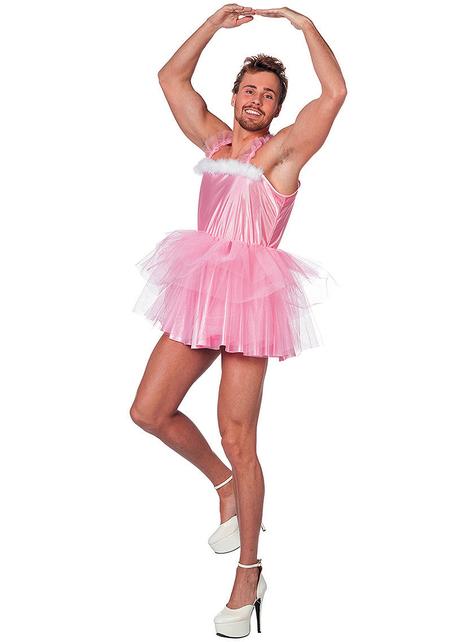 Disfraz de bailarina de Ballet para hombre