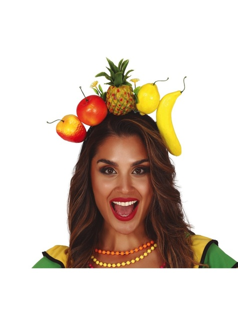 Bandolete de frutas tropicais infantil