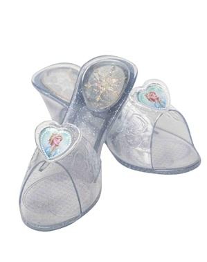 Pantofi Printesa Elsa pentru fată – Regatul de gheață (Frozen) 3