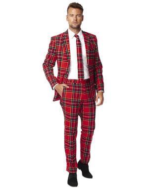 "Originálny oblek Opposuit Škótsky tartan ""Drevorubač"""
