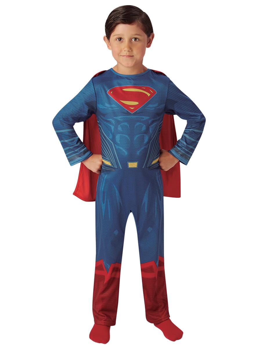 disfraz de superman batman vs superman classic para nio