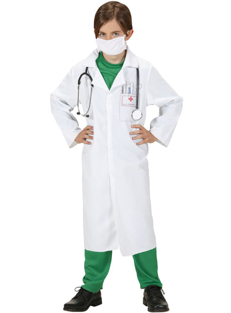Disfraz de doctor para niños