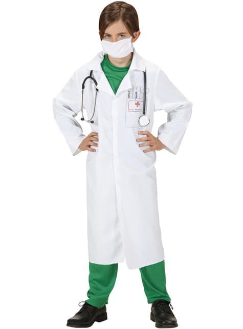 Fato de médico das urgências para menino