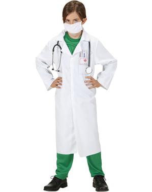 Strój doktor pogotowia dla dziecka
