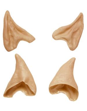 Spiczaste uszy elfa dla dorosłego