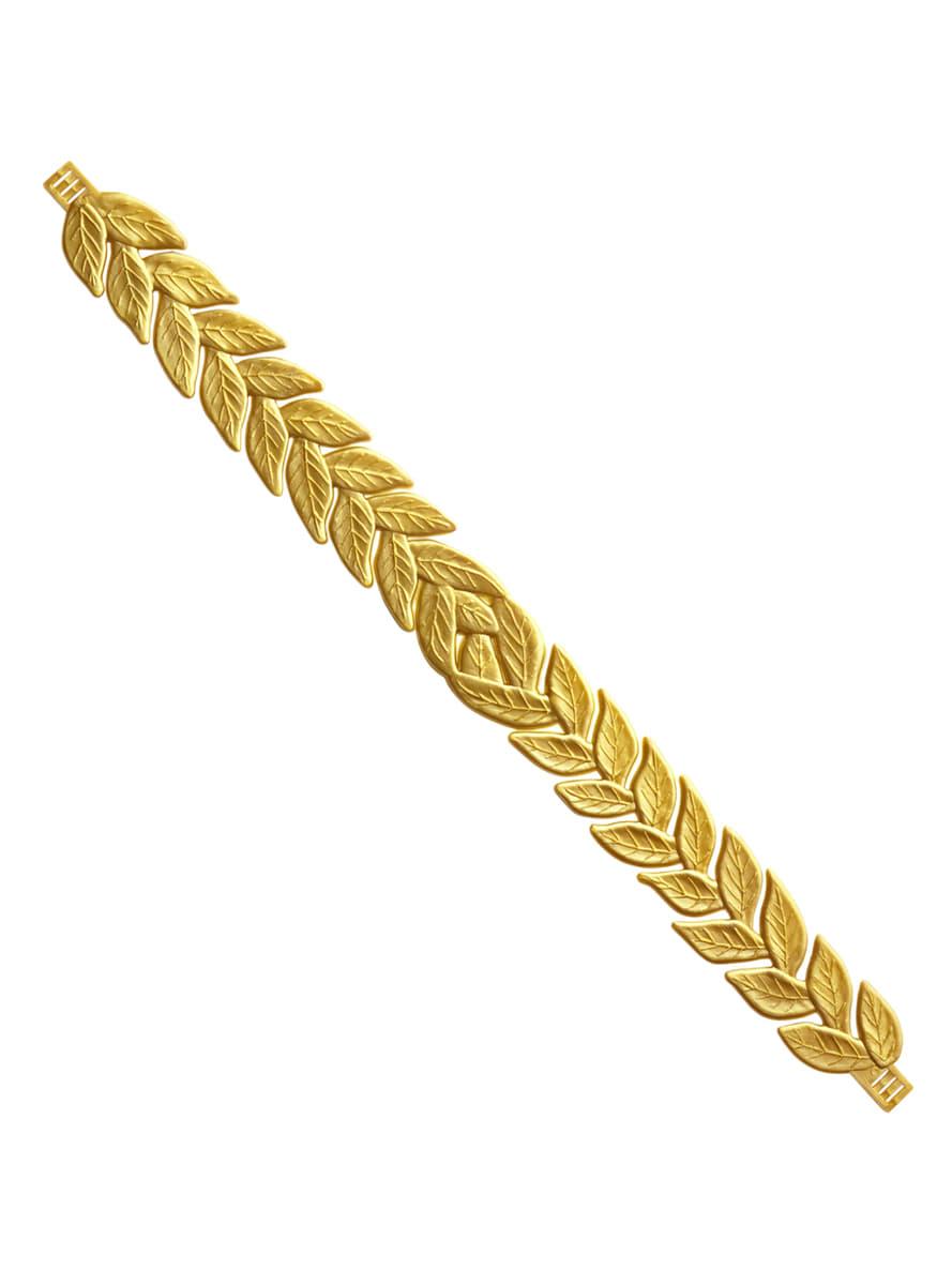 Vavřínový věnec pro dospělé zlatý. Expresní doručení  d15794ea5a