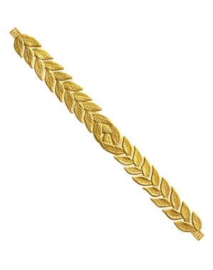 Adult's Golden Laurel Wreath