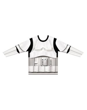 Hyper Realistisk Stormtrooper T-skjorte Gutt