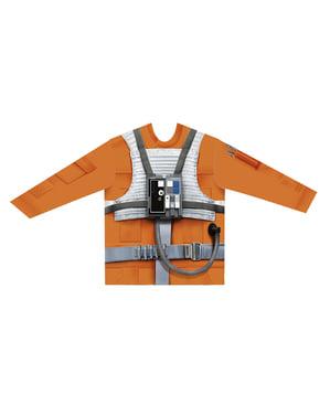 Maglietta Luke Skywalker iperrealistica per bambino