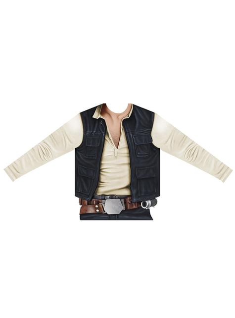 Camisola de Han Solo hiper-realista para menino