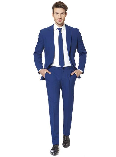 Pánský originální oblek Opposuit královská modř