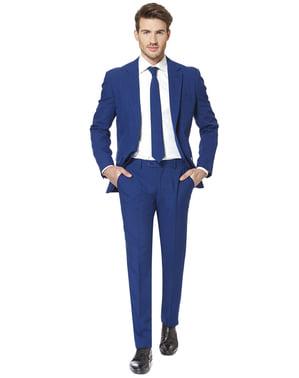 Costum barbați albastru marin