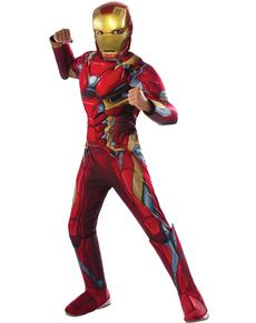 Disfraz de Iron Man Civil War para niño