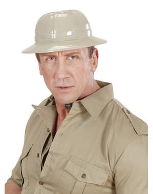 Chapeau blanc explorateur homme
