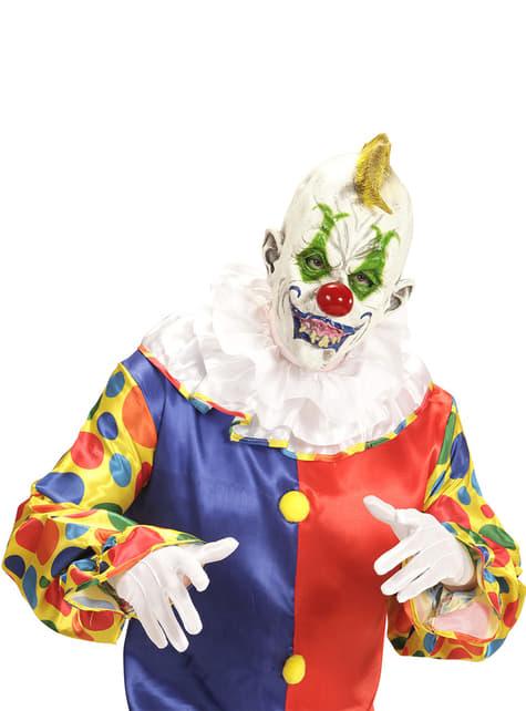Máscara de payaso horripilante para adulto