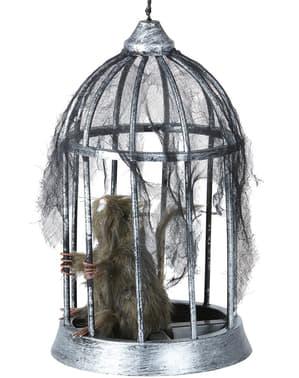 Dekorationsfigur Råtta i bur