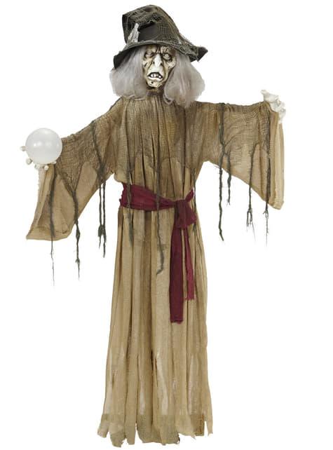 Figura decorativa de bruja endemoniada
