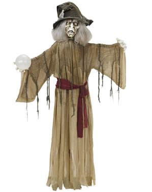 Dekorativní figura posedlá čarodějnice