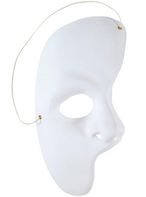 Máscara de fantasma de la opera para adulto