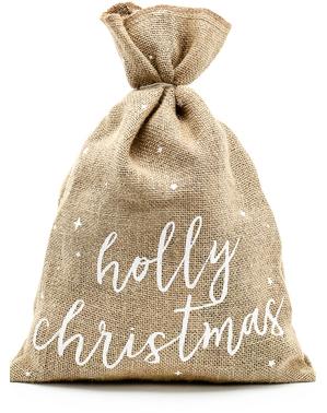 """Декоративно чувалче """"Holly Christmas"""""""